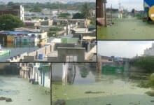 Photo of Hyderabad: Shaheen Nagar still under water for 1 month