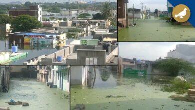 Photo of Hyderabad: Shaheen Nagar still under water for 1 month