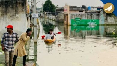 Photo of Misery for Osman Nagar residents as area flooded since 4 weeks