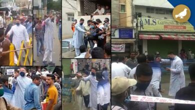 Photo of Owaisi angry on youth at Chandryangutta for unnecessary gathering