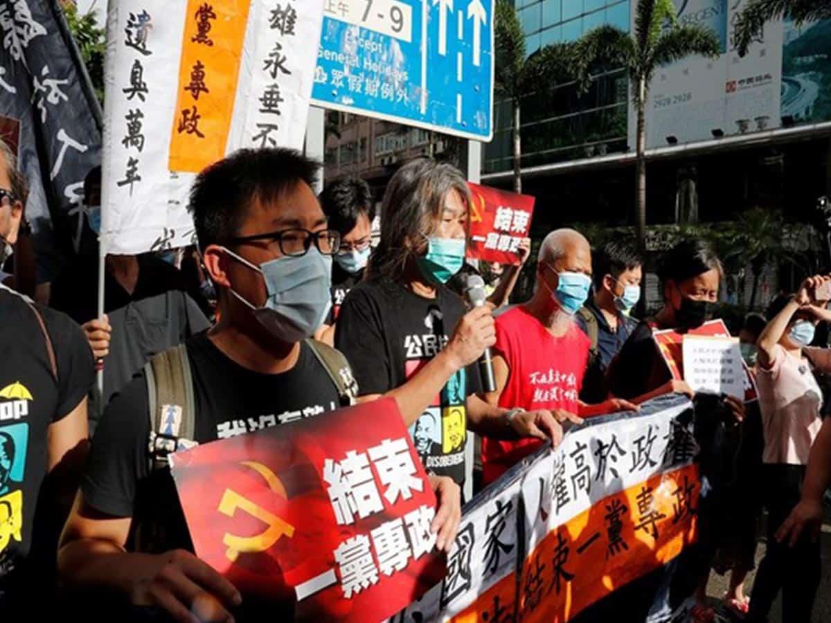HK pro-democracy protestor 'Grandma Wong' resurfaces after 14 months