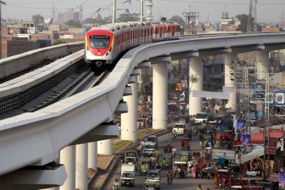 Pak's Orange Line metro train project under CPEC completed