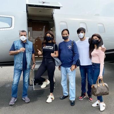 Paresh Rawal, Shilpa Shetty in Manali for 'Hungama 2' shoot