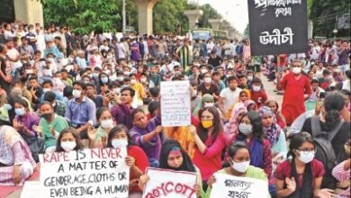 Photo of Protest march against rape from Dhaka to Noakhali on Oct 16