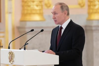 Putin says Russia supports stronger UN role in world affairs
