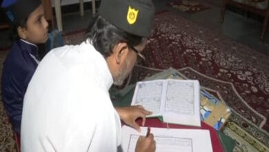 Hyderabad cab driver produces Quran in calligraphy in six months