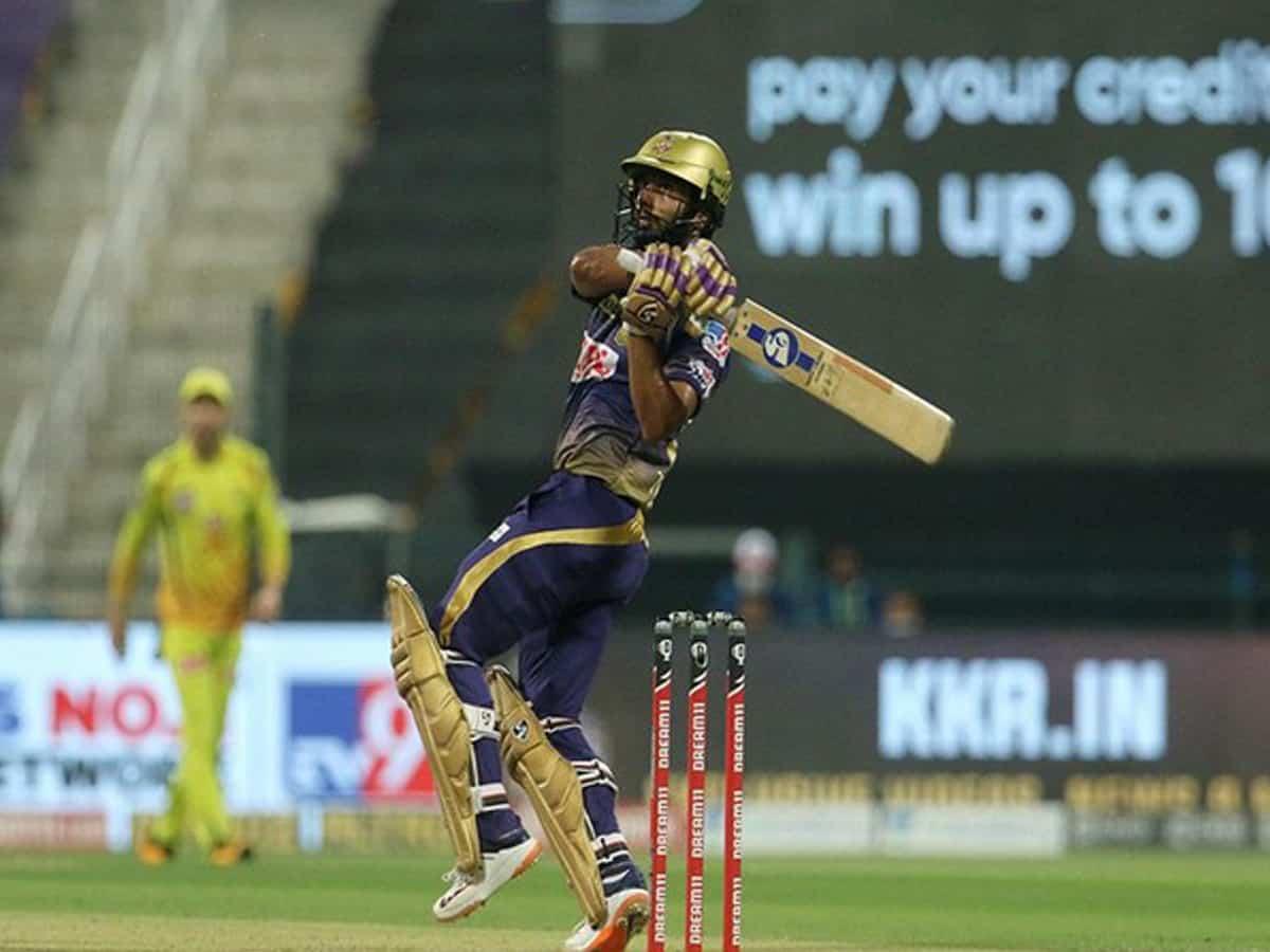 IPL 2020: Rahul Tripathi guides KKR to 167 runs against CSK