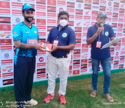 Rahul's all-round show helps Titans XI win in Andhra T20
