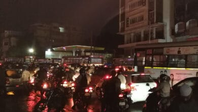 Photo of Heavy rains lash parts of Hyderabad, cause traffic snarls