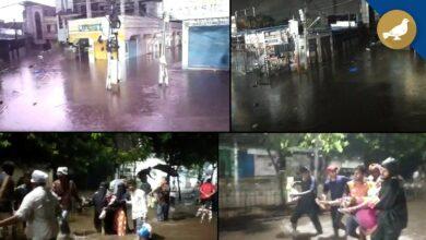 Photo of Rain Water return in Al-jubail Colony, downpour Continue