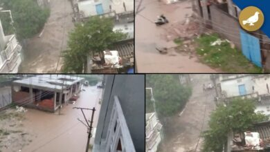 Photo of Once again rain lashes Hyderabad on Saturday