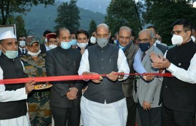 Rajnath lays foundation stone of SASE lab building