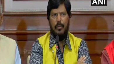 Photo of 'Go Corona Go' minister tests positive, hospitalised