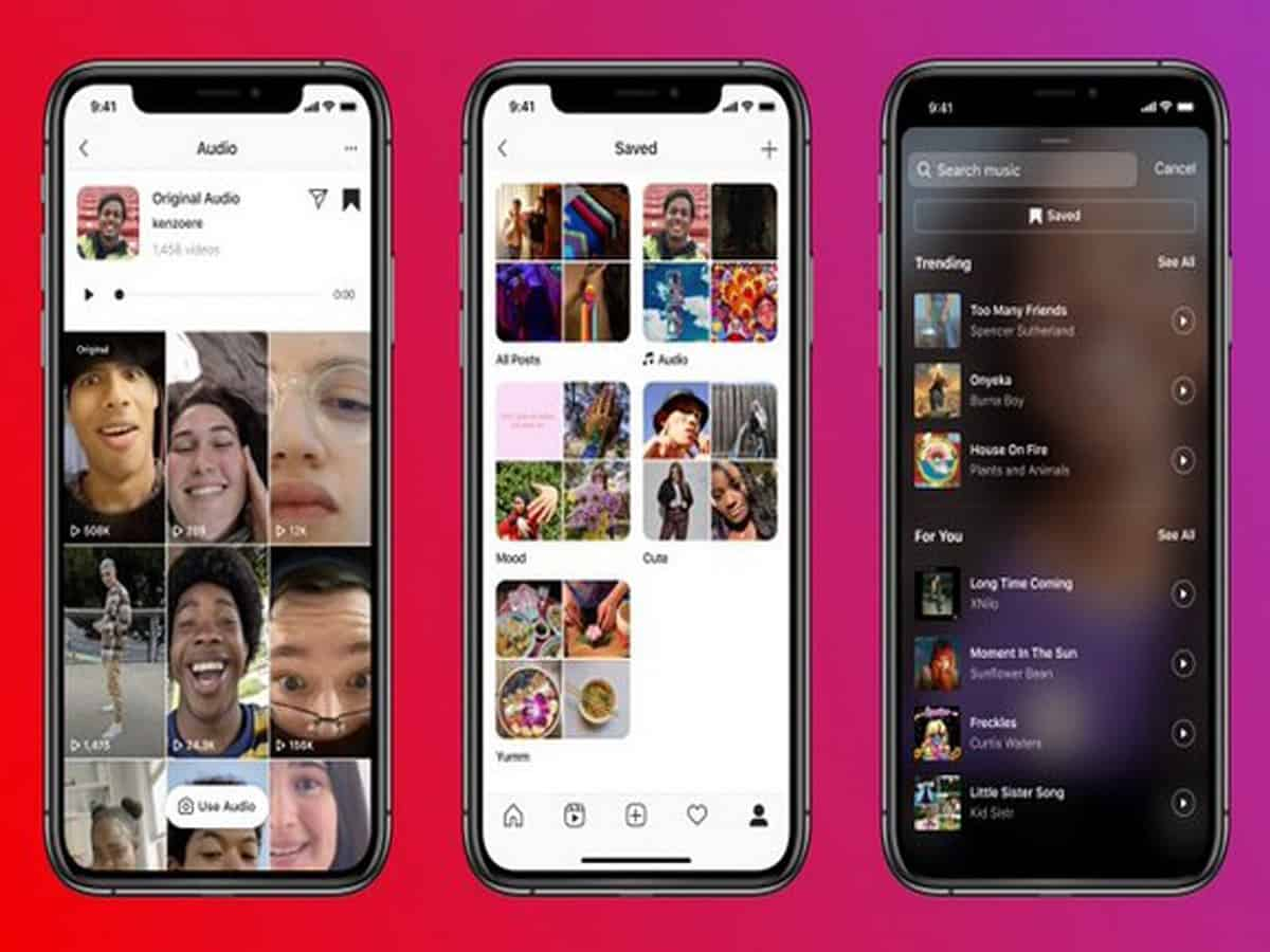 Instagram rolls out 3 new audio feature for Reels