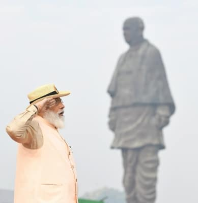 Revival of India's cultural heritage at Ayodhya started by Patel: PM