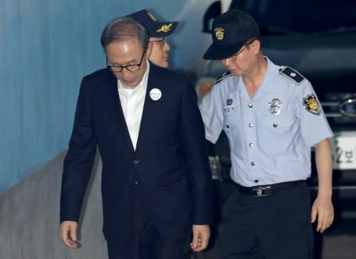 S.Korean court upholds ex-Prez's 17-yr prison term