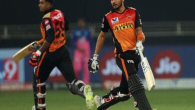Photo of IPL 2020: SRH beat RR by eight wickets