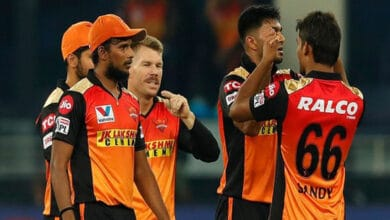 Photo of IPL 2020: Holder's three-wicket haul restricts RR to 154/6