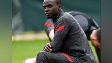Photo of Liverpool's Sadio Mane tests COVID positive