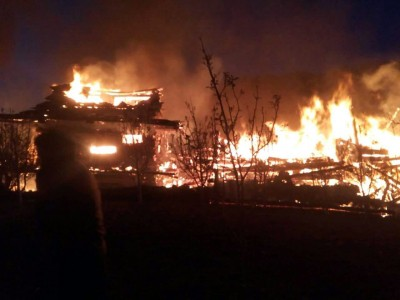 Seven houses gutted in Himachal fire