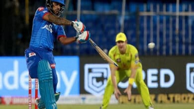 Photo of IPL 2020:  Dhawan's maiden century helps DC to topple CSK by 5 wickets
