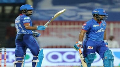 Photo of Shreyas Iyer's fastest IPL fifty guides Delhi Capitals to 228/4