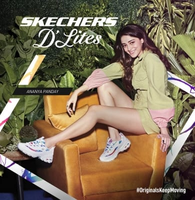 Skechers launches #OriginalsKeepMoving campaign with Ananya Panday