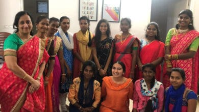 Photo of A 17-year-old is preventing 100 girls from dropping out of school