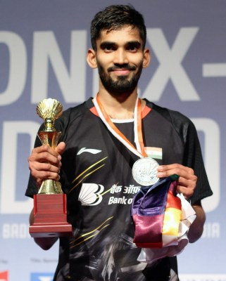 Srikanth knocked out of Denmark Open badminton quarters