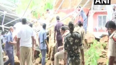 Boulders fall off Indrakeeladri hillock at temple in Vijayawada