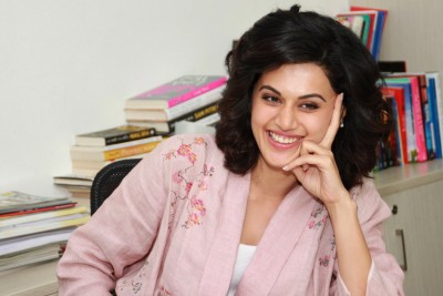 Taapsee Pannu takes a jibe at certain news channels