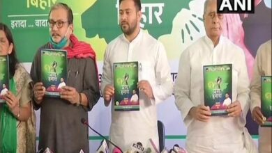 Photo of Tejashwi Yadav releases RJD Manifesto, promises overall development