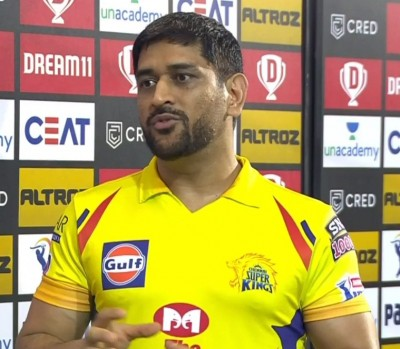 This IPL CSK weren't there, says Dhoni after loss to RR