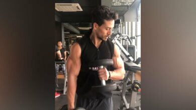 Photo of Tiger Shroff shares glimpse of workout session on his 'cheat day'