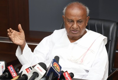 Tired my best to provide water in Tumkur: Deve Gowda