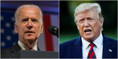 Trump, Biden hold separate town halls in place of direct debate (Ld)