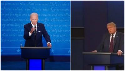 Trump, Biden participate in duelling town halls