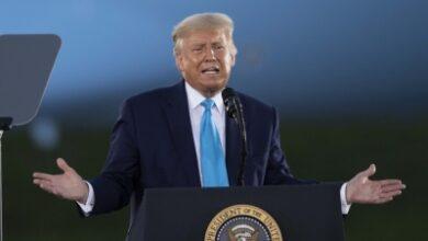 Photo of Trump campaigns in 3 battleground states