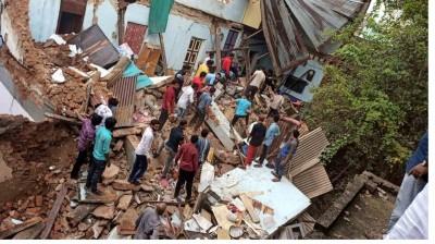 Two die in house collapse, heavy rains alert in Telangana