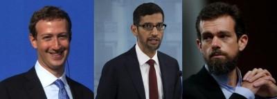 US Congress grills Twitter, Facebook, Google CEOs