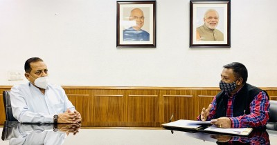 Union Minister lauds NE states for better Covid management