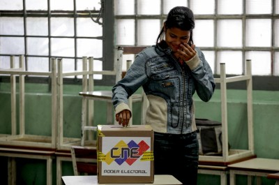 Venezuela holds election drill ahead of legislative polls