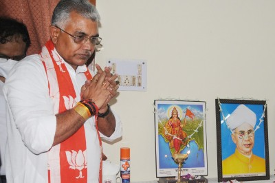 WB BJP president Dilip Ghosh tested Covid-19 positive