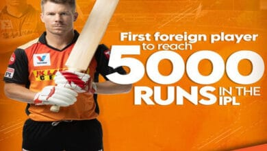 Photo of Warner becomes first foreign player to complete 5000 runs in IPL