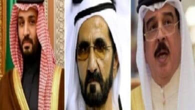 Photo of Rulers of Saudi Arabia, UAE, Bahrain given 'Friends of Zion' award