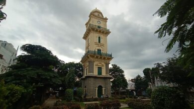 Photo of Hyderabad's historic Mahboob Chowk Clock Tower renovated