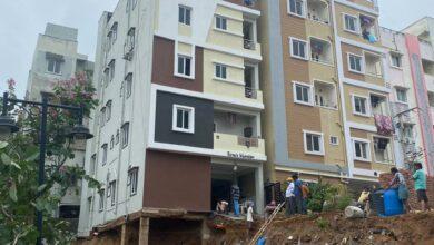 Photo of Rains wreak havoc in Hyderabad; 20 dead, more problems feared
