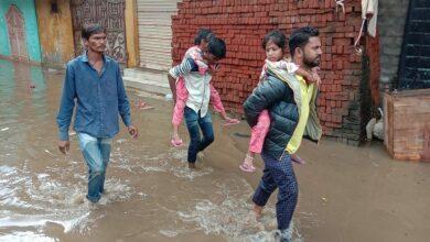 Photo of Hyderabad Rains: Evacuation underway at Falaknuma's Al-Jubail Colony