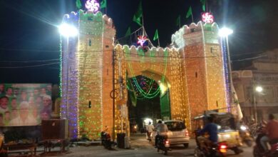 Photo of Old City all decked up in bright lights ahead of Milad-Un-Nabi