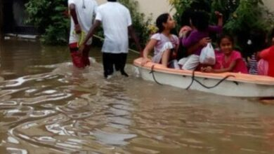 Photo of Hyderabad: Sailors of Yacht Club of Hyderabad rescue flood-hit people